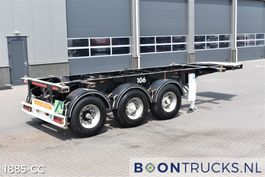 container chassis oplegger Meusburger MCS 3 | 20ft CHASSIS * 3930 Kg 1995