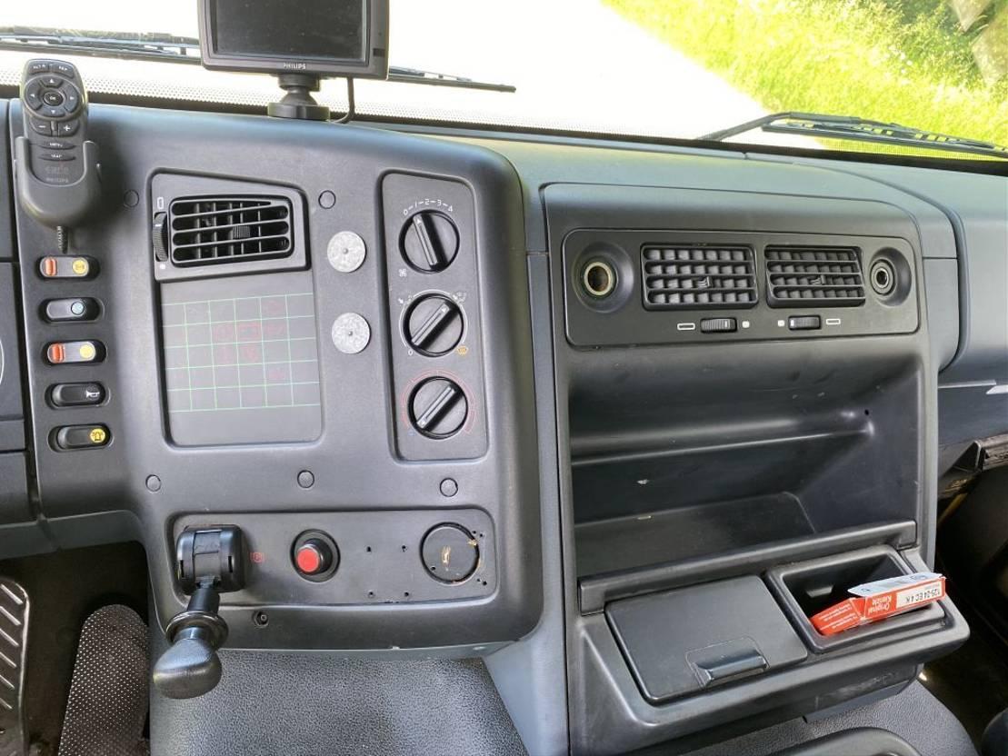 autotransporter vrachtwagen DAF CF75-290 COMPLEET MET AANHANGER TIJGOF OPBOUW 7-LADER TOP STAAT 1998