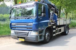 kipper vrachtwagen > 7.5 t DAF CF 65 KIPPER MET KRAAN 2009