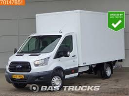 gesloten bestelwagen Ford 2.0 TDCi 130pk Bakwagen Laadklep Airco Dubbellucht Koffer LBW Euro6 A/C 2018