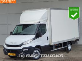 gesloten bestelwagen Iveco 35C16 160PK Bakwagen Laadklep Airco Cruise Dubbellucht Koffer LBW A/C Cr... 2018