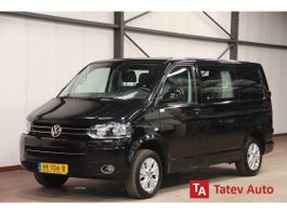 gesloten bestelwagen Volkswagen 2.0 TDI DUBBEL CABINE DSG AUTOMAATAIRCO TREKHAAK 2014