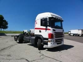 chassis cabine vrachtwagen Scania G 420LB6X2*4MNB Lenkachse Retarder 3 Pedale 2012