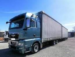 mega-volume vrachtwagen MAN TGX 26 Jumbo-Zug 6x2 Durchlader (46) 2012