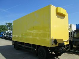gesloten opbouw aanhanger Schmitz Cargobull Anh.ISOLIERKOFFER für BLUMEN 7 m LBW 1,5 TO. 2011