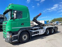 containersysteem vrachtwagen Scania R560 8x4 Tridem 2014