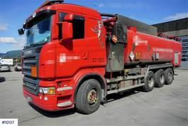 overige bouwmachine Scania R560 8x4 Suction / Flush truck Korp & Son 2008