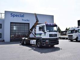 containersysteem vrachtwagen MAN TGA 26 6x4 MEC Hooksystem (25Ton) Year 2011 2006