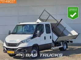 kipper bedrijfswagen Iveco 35C18 3.0 3-zijdige Kipper 3500kg trekhaak, 370cm laadbak A/C Double cab... 2021