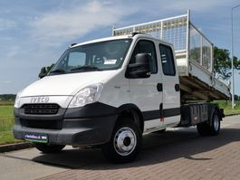 kipper bedrijfswagen Iveco 70 C 15 dubbele cabine ki 2012