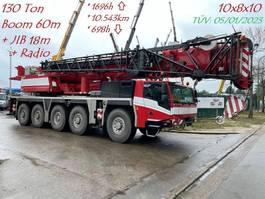 alle terrein kranen Faun TADANO ATF 130G-5 - 130 TONS - 60m BOOM + JIB 18m - 5x EXTENSIONS - RADIO CONTROL - FULL MB ENGINE + GEARBOX 10x8x10 - TÜV 05/01/2023 !!! - TOP BELGIAN MACHINE 2017