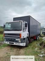 bakwagen vrachtwagen DAF CF 85 ZF manual 6X2 26 ton Euro 2 left hand drive. 1998