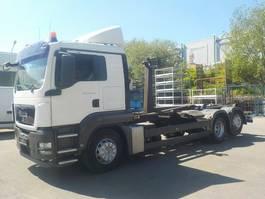 containersysteem vrachtwagen MAN TGS 26 6x2 BL Abrollkipper 26.400 26.440 2009