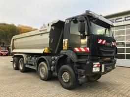 kipper vrachtwagen > 7.5 t Iveco Trakker AD410TW 8x8 Euro 6 Muldenkipper 2017