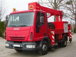autohoogwerker vrachtwagen Iveco Eurocargo 75E15 4x2 Palfinger BISON TKA 16 2005