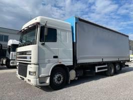 huifzeil vrachtwagen DAF XF 95 XF95.480 Euro2 6x2 2001