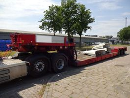 dieplader oplegger Nooteboom Lowbed - Removable Neck - Extendable - 3x Steering Axles 1991