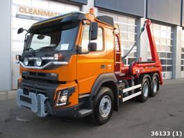 containersysteem vrachtwagen Volvo 410 6x4 Euro 6 2015