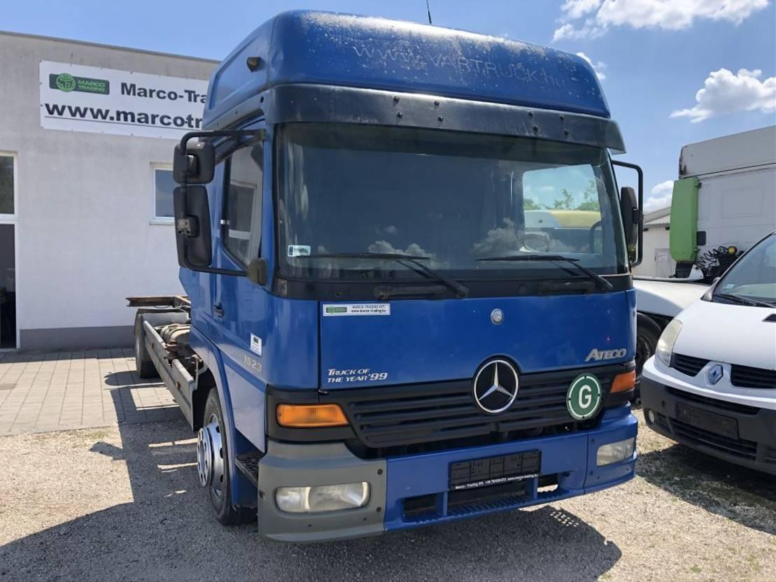 chassis cabine vrachtwagen Mercedes-Benz Atego 1523 Mech.pump engine - Euro2 1999