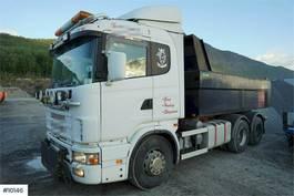 kipper vrachtwagen > 7.5 t Scania 6x2 tipper truck 2000