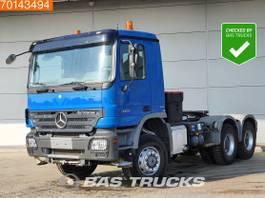 standaard trekker Mercedes-Benz 3351 6X6 6X6 Big-Axle Hydraulik 3-Pedals Euro 4 2007