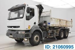 kipper vrachtwagen > 7.5 t Renault Kerax DCi - 6x4 2005