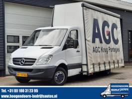 glasresteelwagen bedrijfswagen Mercedes-Benz 515 CDI Automaat - GLASRESTEEL 2009