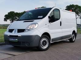 gesloten bestelwagen Renault 2.0 DCI werkplaatsinrichting 2014