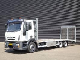 autotransporter vrachtwagen Iveco Eurocargo ML120E28 EEV / MACHINE TRANSPORTER 2011