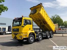 kipper vrachtwagen > 7.5 t MAN 41.460 Full steel - Manual - Big axles - Mech pump 2004