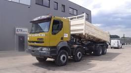 kipper vrachtwagen > 7.5 t Renault Kerax 420 (GRAND PONT / SUSPENSION LAMES / 8X4 / 12 ROUES) 2004