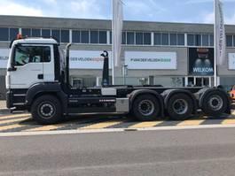 containersysteem vrachtwagen MAN TGS 35.460 8x4-4 BL EURO6 2018