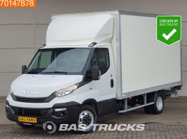 gesloten bestelwagen Iveco 35C16 160PK Bakwagen Laadklep Climate Cruise Bluetooth A/C Cruise control 2018