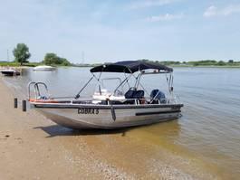 motorboot Yamaha Aluminium multi purpose werkboot/speedboot master 540 - 115 pk Yamaha - benzine Aluminium multi purpose werkboot