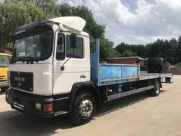 open laadbak vrachtwagen MAN 18.272 **6CYL-FULL STEEL-MANUAL PUMP** 1995