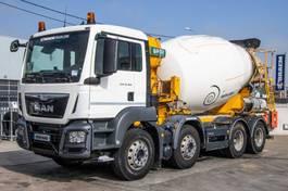 betonmixer vrachtwagen MAN 32.360 BB+E6+MIXER 9M³ 2016