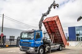 kipper vrachtwagen > 7.5 t DAF CF 75 2003