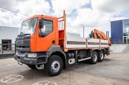 platform vrachtwagen Renault Kerax DCI+PK18008/5+2 2003