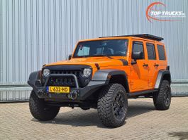 terreinwagen Jeep 4x4 - 3.6 - V6 - JK Unlimited - Lang - Trekhaak 2013