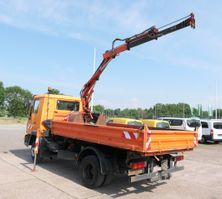 kipper vrachtwagen > 7.5 t MAN 10.153 ATLAS AK35.1 2xAHK 4x2 3-Sitzer Zwe 1994
