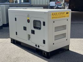 generator Ricardo 30 KVA Silent Generator 3 Phase 50HZ New Unused 2020