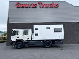 bakwagen vrachtwagen Scania P410 XT 4X4 EXPEDITION TRUCK/WOHNMOBIL/CAMPER/MOTORHOME/MOBILHOME/OVERLAND TRUCK 2018