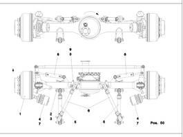 as equipment onderdeel Kessler LTM 1400-7.1 Axle 3