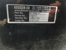 as equipment onderdeel Kessler Liebherr LTM 1400-7.1 Axle 6