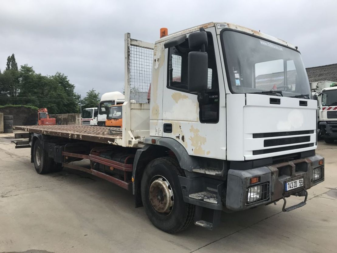 autotransporter vrachtwagen Iveco 180E30 **6CYL-FRENCH TRUCK-WINCH** 1999