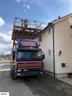overige hoogwerker Scania w / scissor lift power tool 1990