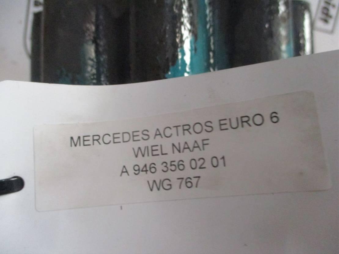 Naaf vrachtwagen onderdeel Mercedes-Benz A 946 356 02 01 WIELNAAF EURO 6
