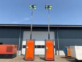 lichtmast Kubota Hydro Power Box Light Tower Supersilent 8.3 meter Lichtmast aggregaat Rental 2014