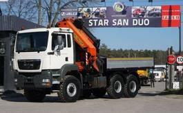 kraanwagen MAN 26.460 6x6 PALFINGER PK 44002 E EURO 4 WINDE 2008