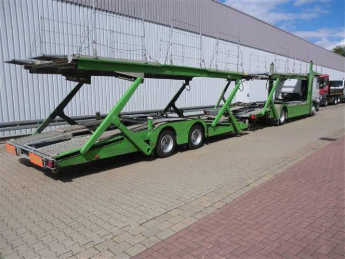 autotransporter vrachtwagen Mercedes-Benz Actros 1841 1841L 4x2 Actros 1841L 4x2 für 8 bis 9 Fahrzeuge, Aufbau AKSOYLU 2007
